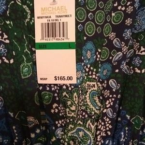 Beautiful floral Michael Kors brand new maxi